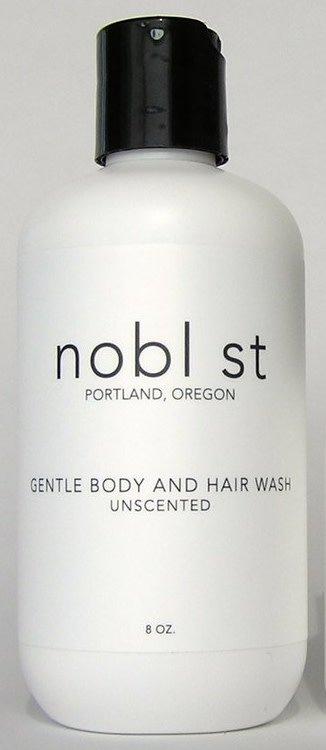nobl st nobl st Unscented Gentle Body Wash