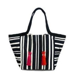 Mercado Global Mercado Global Rosa Tote Black Midnight