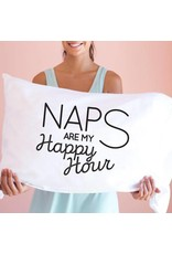 Faceplant Dreams Faceplant Dreams Naps Are My Happy Hour-Std (Single Pillowcase)
