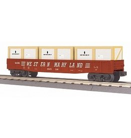 MTH - RailKing 30-72175 - GONDOLA CAR W/CRATES