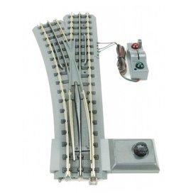 MTH - RailKing 40-1021 - RealTrax - O-72 Switch (LH)