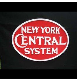 CUSTOM 26253 - N.Y. CENTRAL OVAL Railroad Emblem Builder Plate - COLOR VARIATIONS