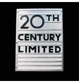 CUSTOM 26257 - N.Y.C. 20TH CENTRAL OBSERVATION - Emblem Plate - COLOR VARIATIONS