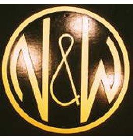 CUSTOM 26274 - N& W Railroad Builders Emblem Plate - COLOR VARIATIONS
