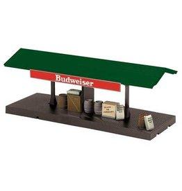 MTH - RailKing 309171 - BUDWEISER FREIGHT PLATFORM OPER