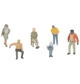 MTH - RailKing 3011072	 - 	FIGURES PEOPLE 6pcs