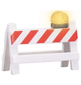 MTH - RailKing 3011021	 - 	Flashing Barricades - O Gauge