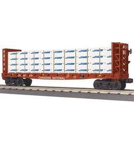MTH - RailKing 3076450 - FLAT CAR C/N W/LUMBER