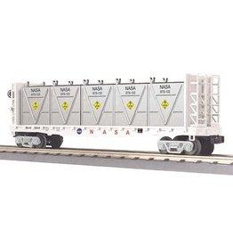 MTH - RailKing 3076565 - FLAT CAR NASA W/BULK & LCL