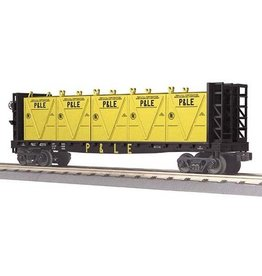 MTH - RailKing 3076606 - FLAT CAR P&LE W/BULK & LCL