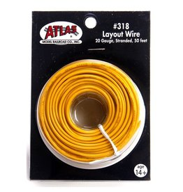 ATLAS 3190	 - 	# 318 WIRE YELLOW