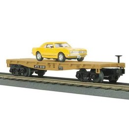MTH - RailKing 337607	 - 	Flat Car w/'67 Camaro Z28