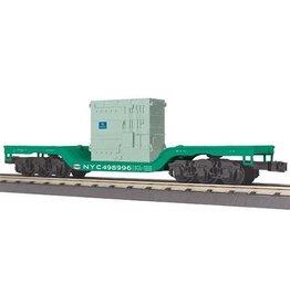 MTH - RailKing 3076479 - FLAT NYC W/TRANSFORMER LOAD
