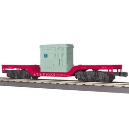 MTH - RailKing 3076480 - FLAT SANTA Fe W/TRANSFOMER