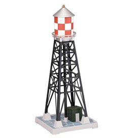 MTH - RailKing 309029	 - 	#193 INDUSTRIAL WATERTOWER - Red & White Checkered Railking