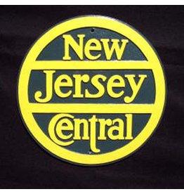 CUSTOM 26250 - NEW JERSEY CENTRAL Railroad Builder Emblem Plate - COLOR VARIATIONS