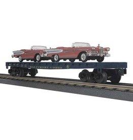 MTH - RailKing 3076498 - FLAT W/2 1958 EDSEL CITATIONS