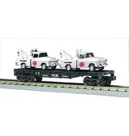 MTH - RailKing 307640 - FLAT W/2 UNION 76 TOW TRUCKS