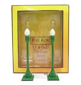MTH - RailKing 1913 - #580-1 STREET LAMP SET (2PK)