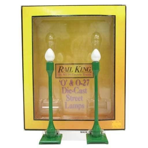 MTH - RailKing 1913	 - 	#580-1 STREET LAMP SET (2PK)