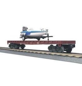 MTH - RailKing 3076537 - FLAT WBOAT BESSGMER & LAKE ERIE