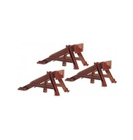 Lionel 612717	 - 	BUMPERS RAILROAD PLASTIC 3pcs