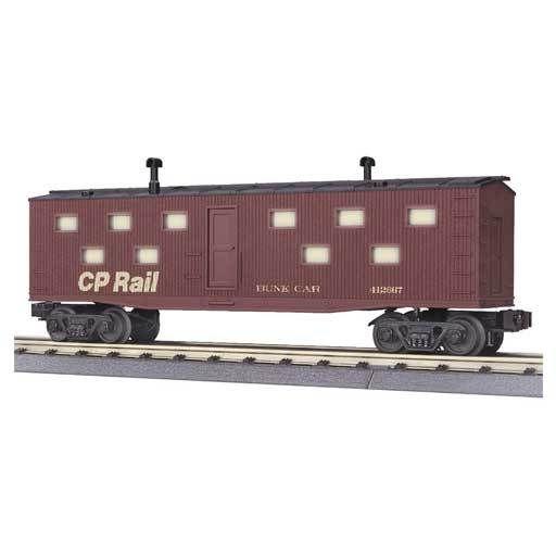 MTH - RailKing 30-7009A - BUNK CAR CP RAIL
