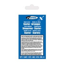 ESTES 2302	 - 	ROCKET IGNITERS 6PK
