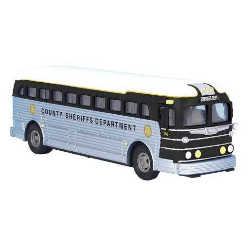 MTH - RailKing 3050065 - BUS COUNTY SHERIFF'S DEPT