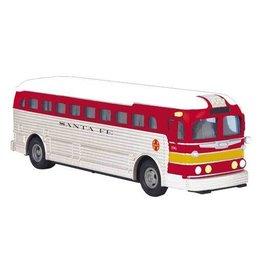 MTH - RailKing 3050061 - BUS DIE CAST Santa Fe