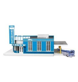 MTH - RailKing 309040	 - 	BUS STATION Greyhound