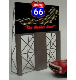 Miller Engineering 5061	 - 	ROUTE 66 BILLBOARD