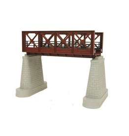 MTH - RailKing 401104	 - 	GIRDER BRIDGE 1 Track RUST