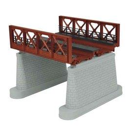 "MTH 401110 - O 2-Track Bridge Girder - Rust - Under Bridge Clearance 5 3/4"""