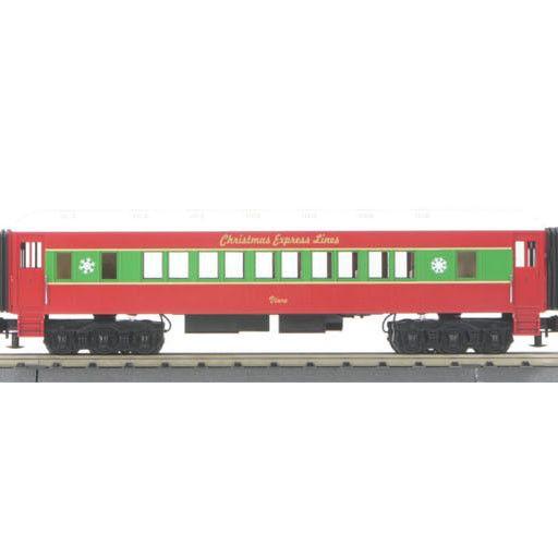 MTH - RailKing 3042181 - RTR CHRISTMAS 4-6-0 PASSENGER
