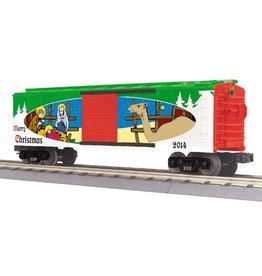 MTH - RailKing 3074779 - RTR CHRISTMAS BOX CAR