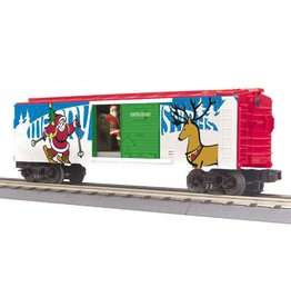 MTH - RailKing 3079430	 - 	RTR CHRISTMAS OP BOX CAR