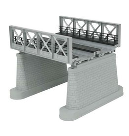 MTH 401108	 - 	GIRDER BRIDGE SILVER 2 TRACK