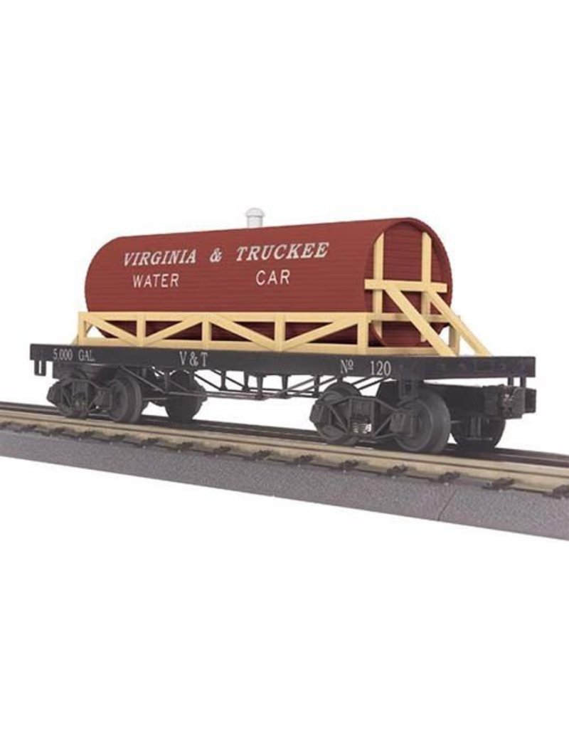 3073121 - Wooden Tank Car - 19th Century