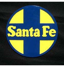 CUSTOM 26261 - SANTA FE Builders Plaque Railroad Emblem - COLOR VARIATIONS