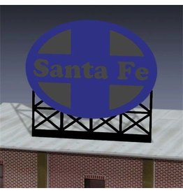 Miller Engineering 880551	 - 	SANTA Fe BILLBOARD