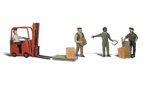 2744 - WORKERS / FORKLIFT