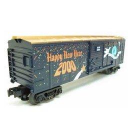 MTH - RailKing 307460 - BOX CAR - NEW YEARS 2000 HOLIDAY