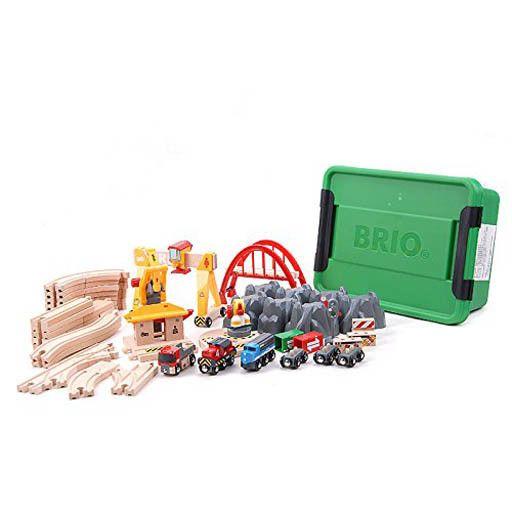 BRIO BRIO -  CARGO RAILWAY DELUXE SET