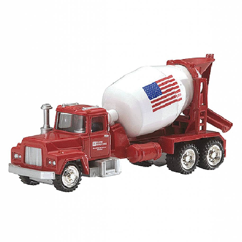 k line 872091 cement truck o scale bussinger trains