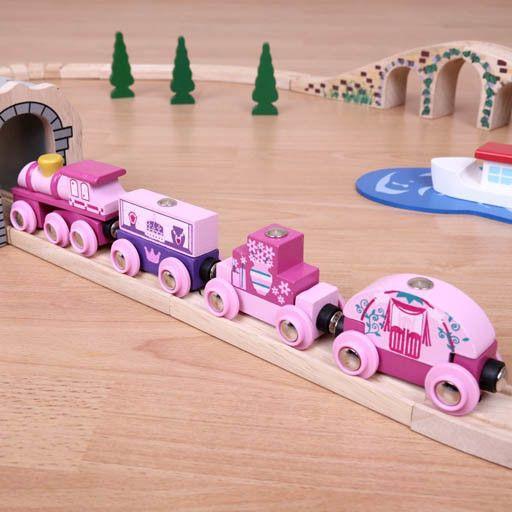 Big Jig Toys PRINCESS TRAIN