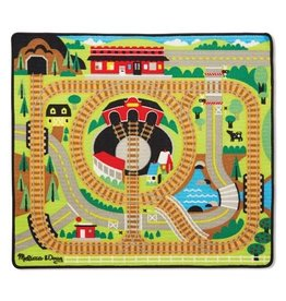 Melissa & Doug 9554 - M&D ROUND THE RAILS TRAIN RUG