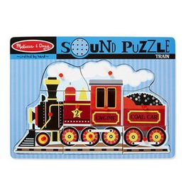 Melissa & Doug 729 - M&D - TRAIN SOUND PUZZLE