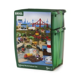 BRIO BRIO - RAILWAY WORLD DELUXE SET