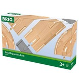 BRIO BRIO - ROAD EXPANSION PACK - Wooden Track